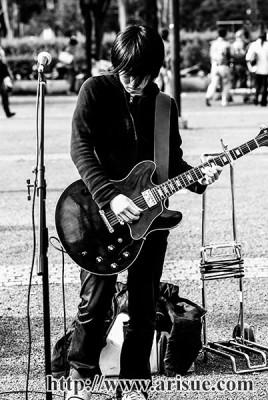[Champagen] ギター 白井眞輝 Gibson ES-335
